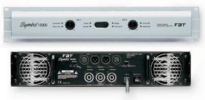 1x Amp rack: DBX Driverack PA, MC2 E45, FBT Symbol 12000