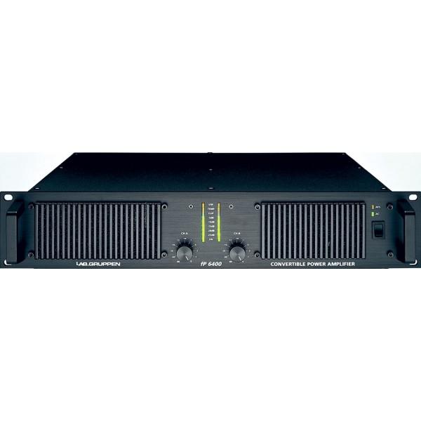 1x amp rack Dbx Driverack PA, Labgruppen FP 6400 x2