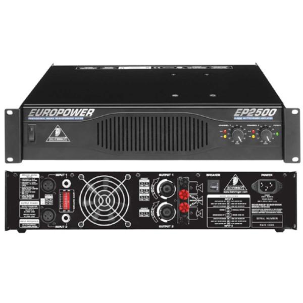 1x Monitor amp rack Behringer EP 2500
