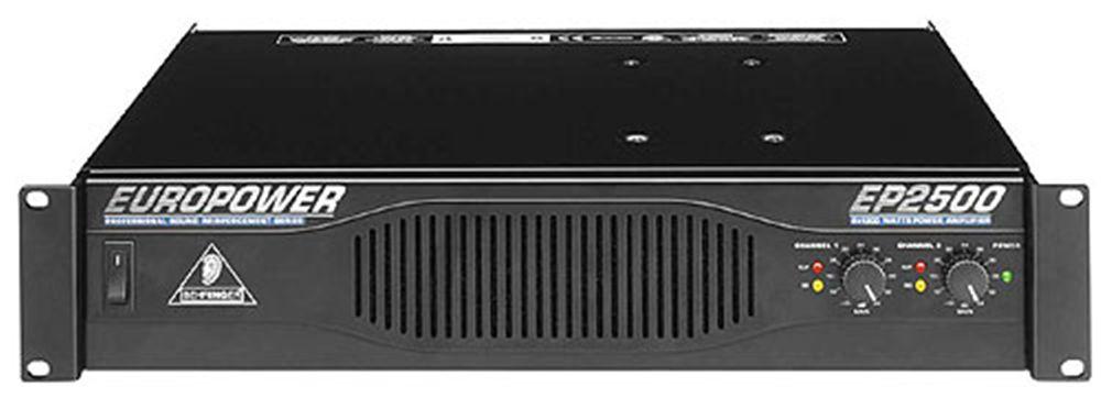 1x Amp rack: DBX Driverack PA, MC2 E45, FBT Symbol 12000, Behringer EP2500